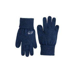 Vineyard Vines Boys Warm Ribbed Cuff Gloves